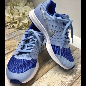 Nike Girls Nike Girl's Downshifter 7 Light Blue
